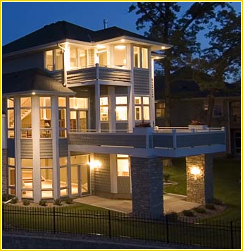 House with Lighting in Jacksonville, FL